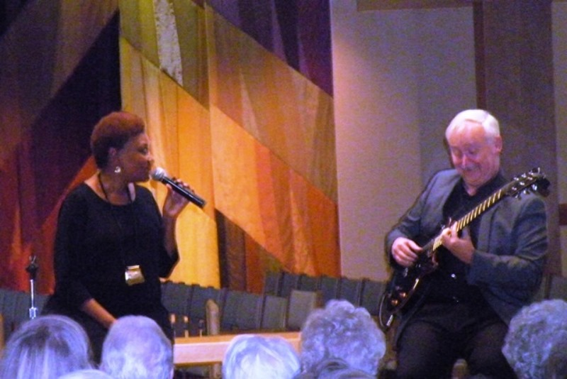 Edye Evans and Mike Hyde at Dominican Chapel Marywood