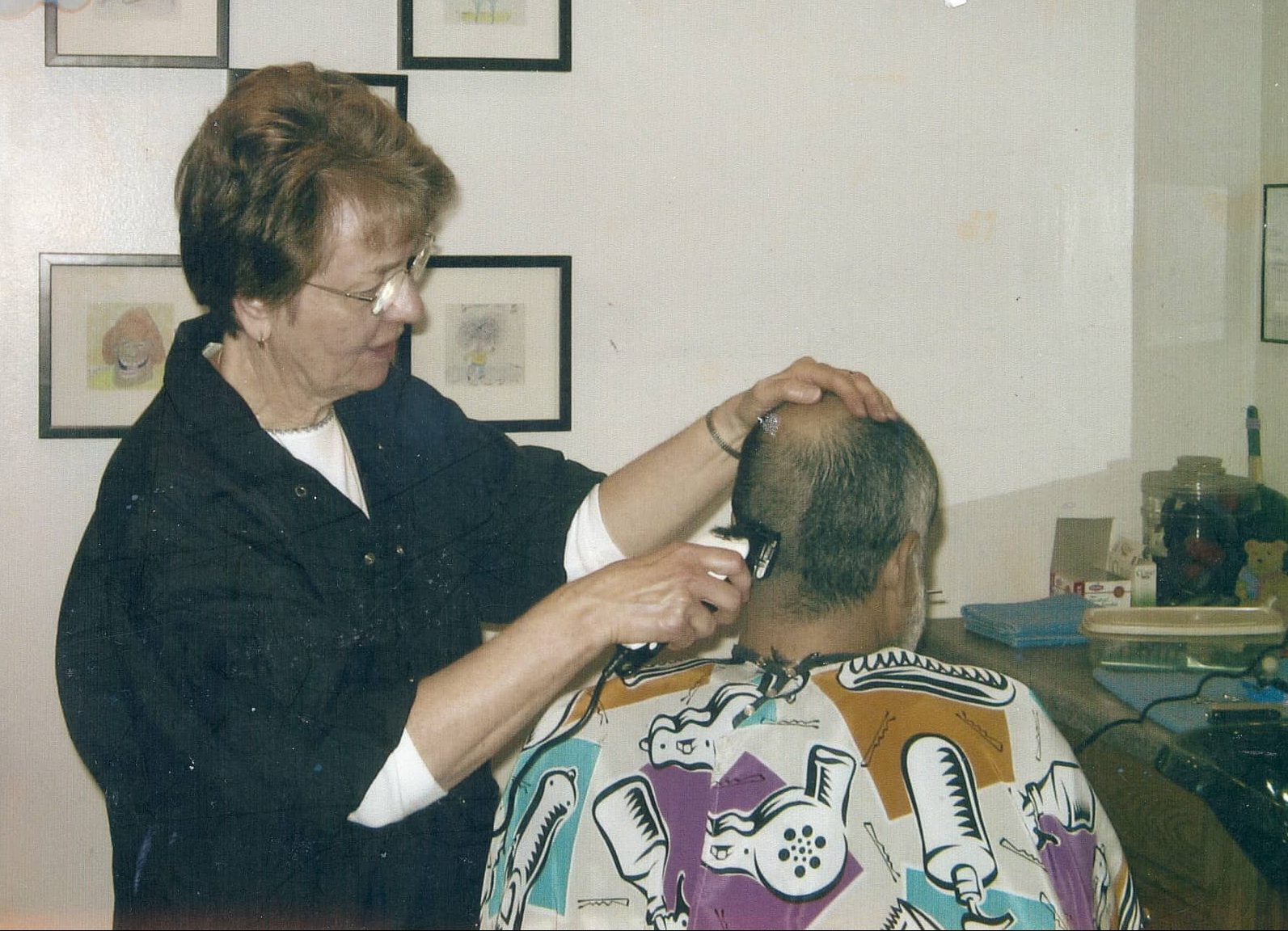 Stein M Haircut Dominican Sisters