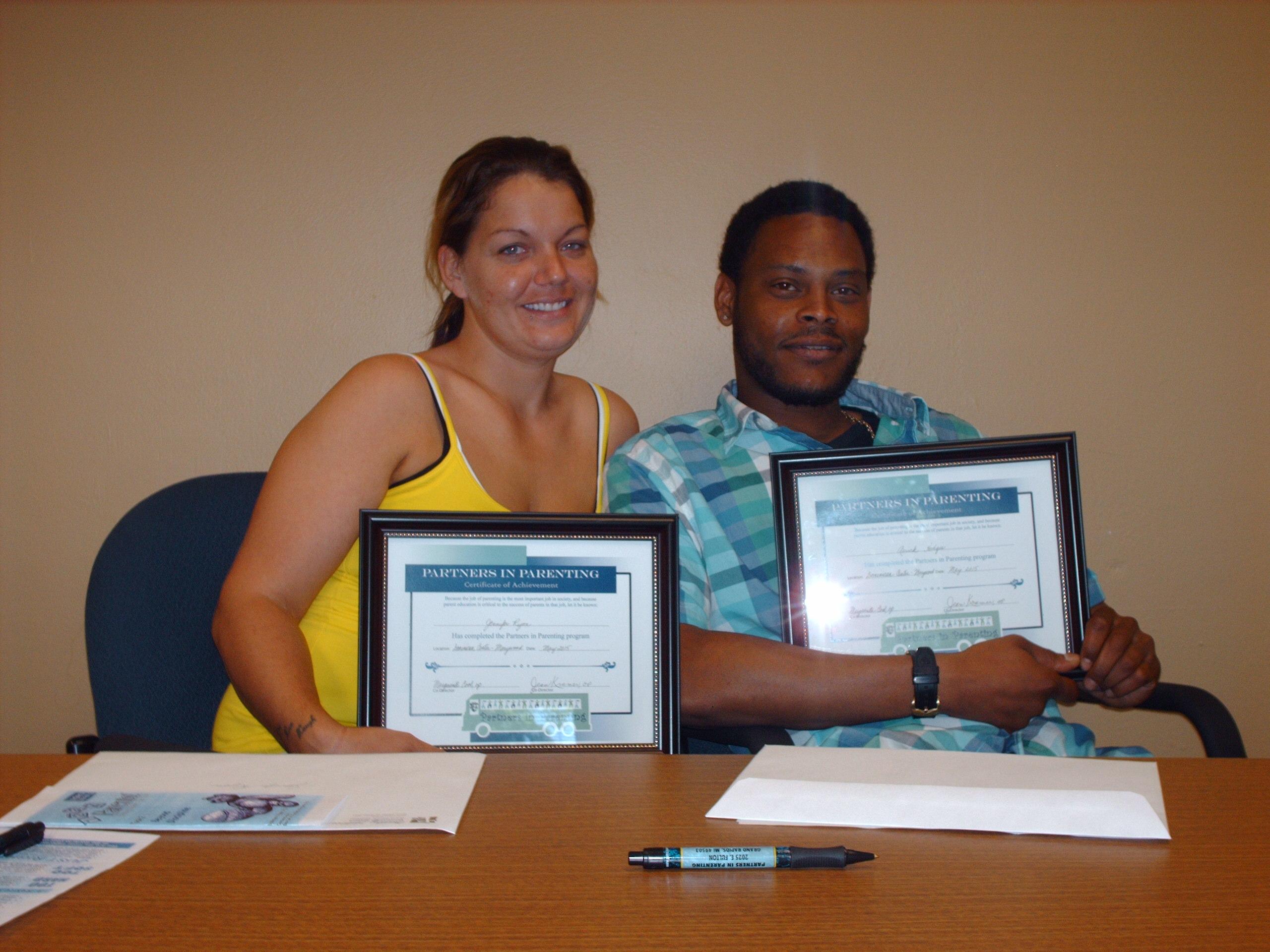 Partners in Parenting Graduates