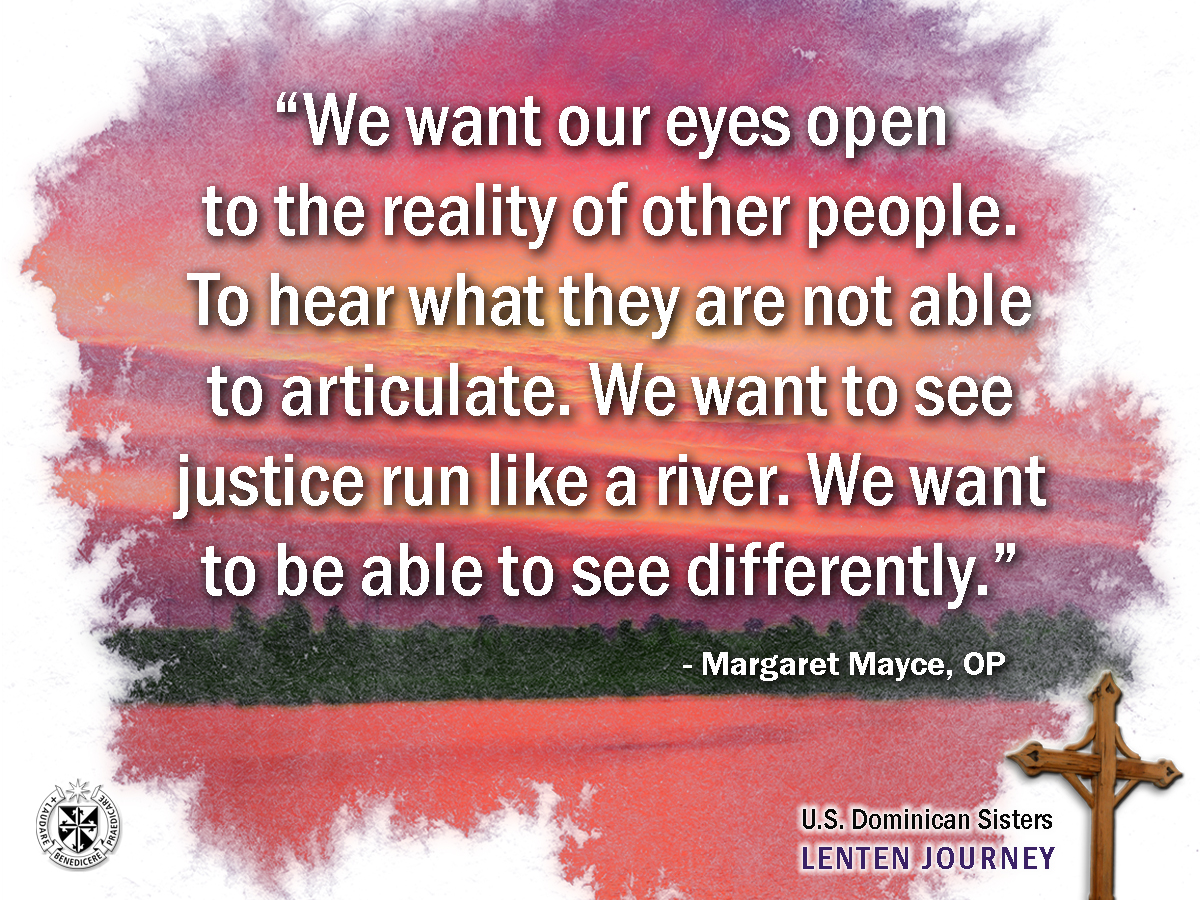 Margaret Mayce, OP Reflection
