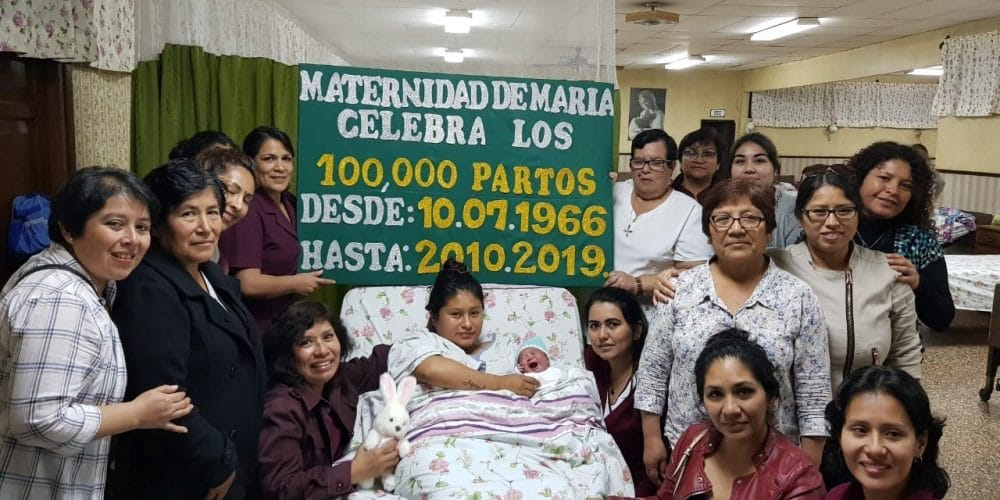 A Blessed Birth Of A Baby In Chimbote Peru At Maternidad