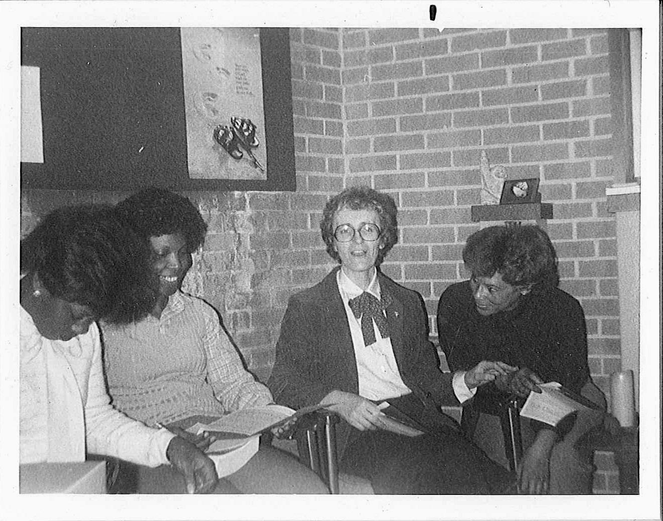 Sr. Joyce Ann Hertzig taught in t in